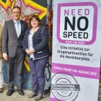 MdB Marianne Schieder unterstützt die Präventionsstelle Need No Speed